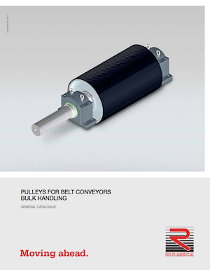 Pulleys for belt conveyors